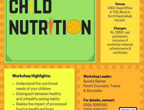 A two-day Workshop: CHILD NUTRITION