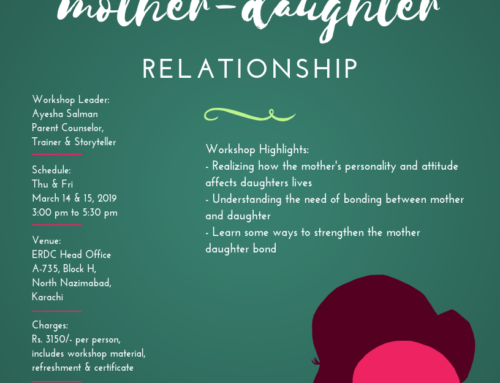 A two-day Workshop for Mothers: STRENGTHENING THE-MOTHER DAUGHTER RELATIONSHIP