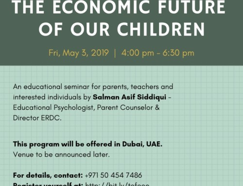 The Economic Future of our Children | DUBAI