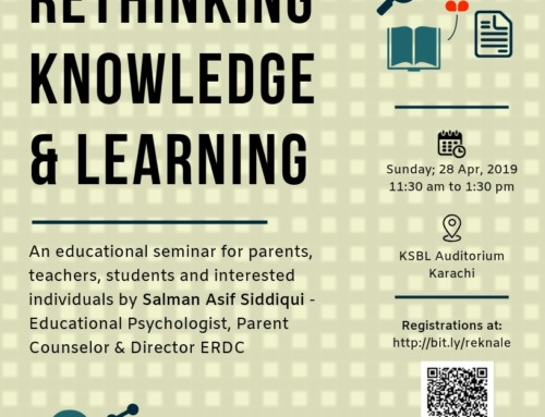 Seminar: Rethinking Knowledge & Learning