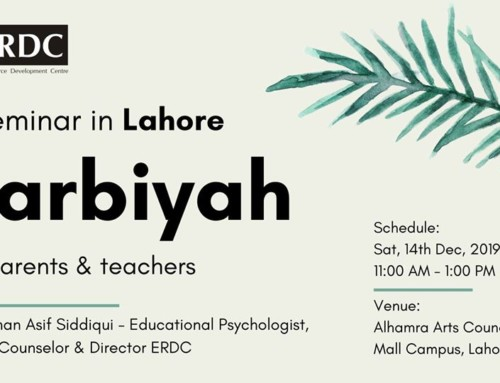 Seminar on Tarbiyah for parents & teachers (Lahore)