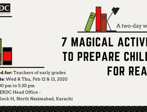 Workshop: 7 Magical Activities to prepare children for reading