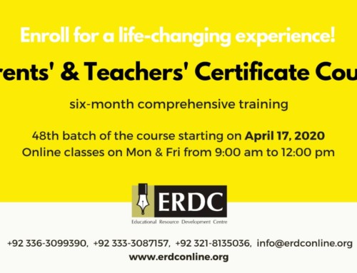 PTCC-PARENTS' & TEACHERS' CERTIFICATE COURSE
