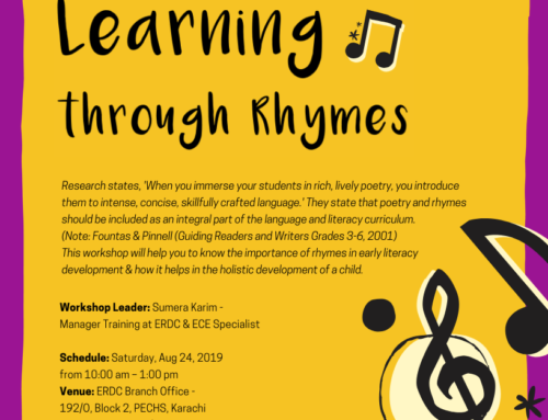 A one-day Workshop: LEARNING THROUGH RHYMES