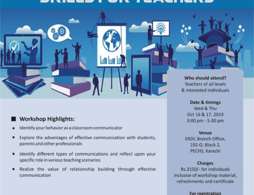 A two-day workshop: BASIC COMMUNICATION SKILLS FOR TEACHERS