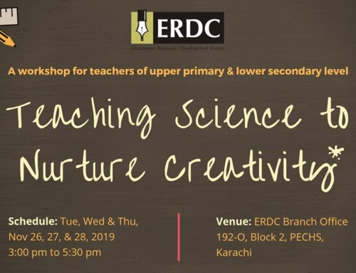 Workshop: TEACHING SCIENCE TO NURTURE CREATIVITY