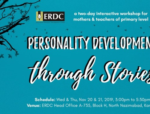 Workshop for mothers & teachers of primary level: PERSONALITY DEVELOPMENT THROUGH STORIES