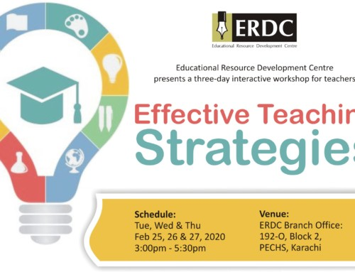 ERDC Workshop: Effective Teaching Strategies