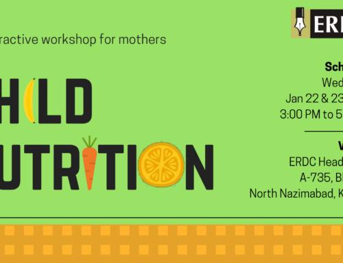 Workshop: Child Nutrition
