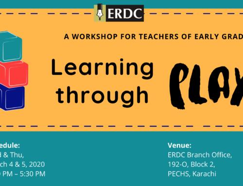 ERDC Workshop: Learning through Play