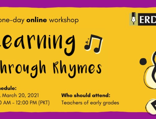 Workshop: Learning through Rhymes